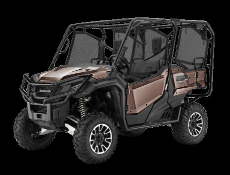 Honda Pioneer 1000-5 EPS LE Brun mélasse mat métalique 2021