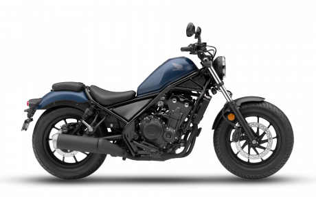Honda REBEL 500 Bleu denim mat métallique 2020